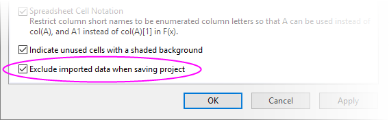 Exclude imported when saving Properties dialog.png