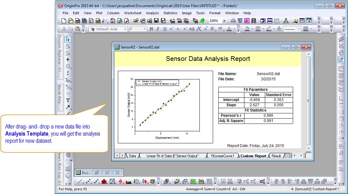 Handling Repetitive Tasks – Data Analysis Format