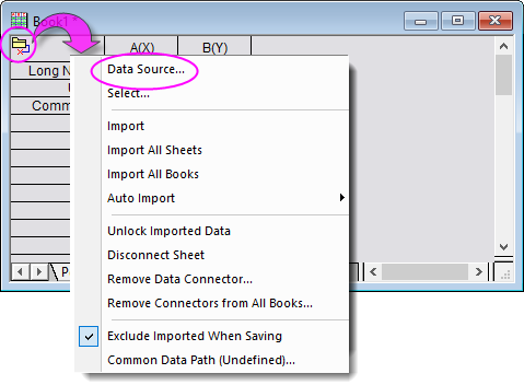 Data Connector Shortcut Menu.png