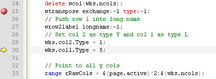 Help Online - LabTalk Programming - Debug LabTalk Script