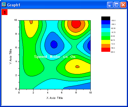 Help Online - Tutorials - Contour Plots and Color Mapping