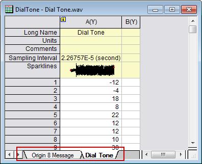 Help Online - Tutorials - Sound Processing