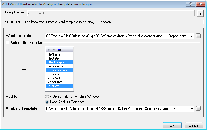 Add Word Bookmarks to Analysis Template Dialog 01.png
