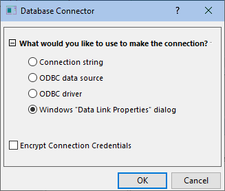 DB Database Connector Data Link Properties dialog.png