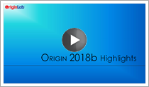 Origin2018b Highlights video.png