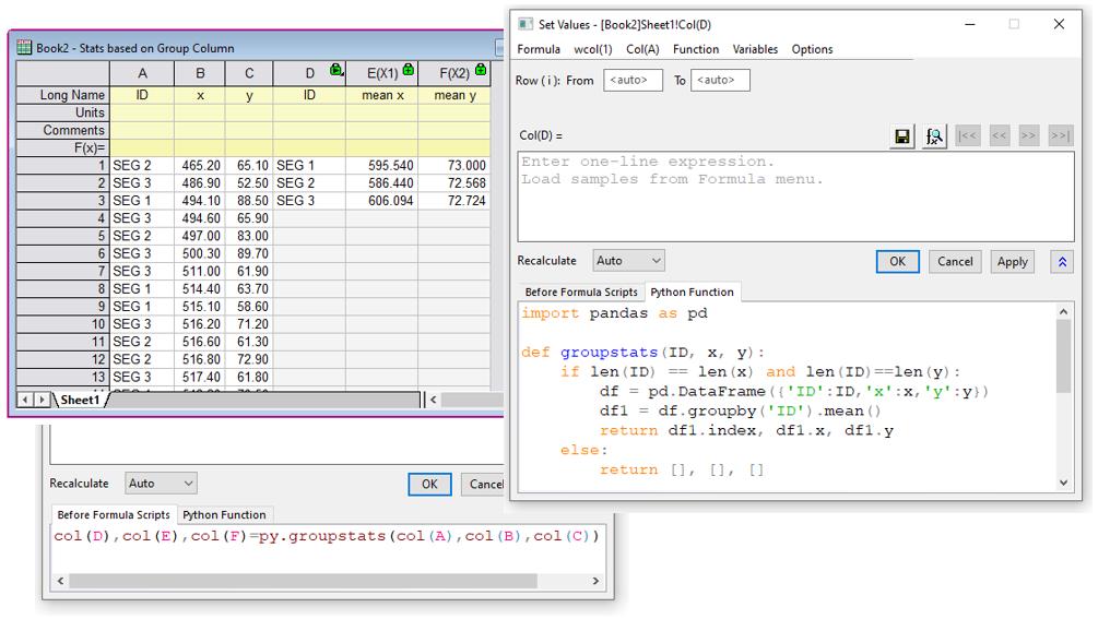 Origin software de análisis de datos y gráficos