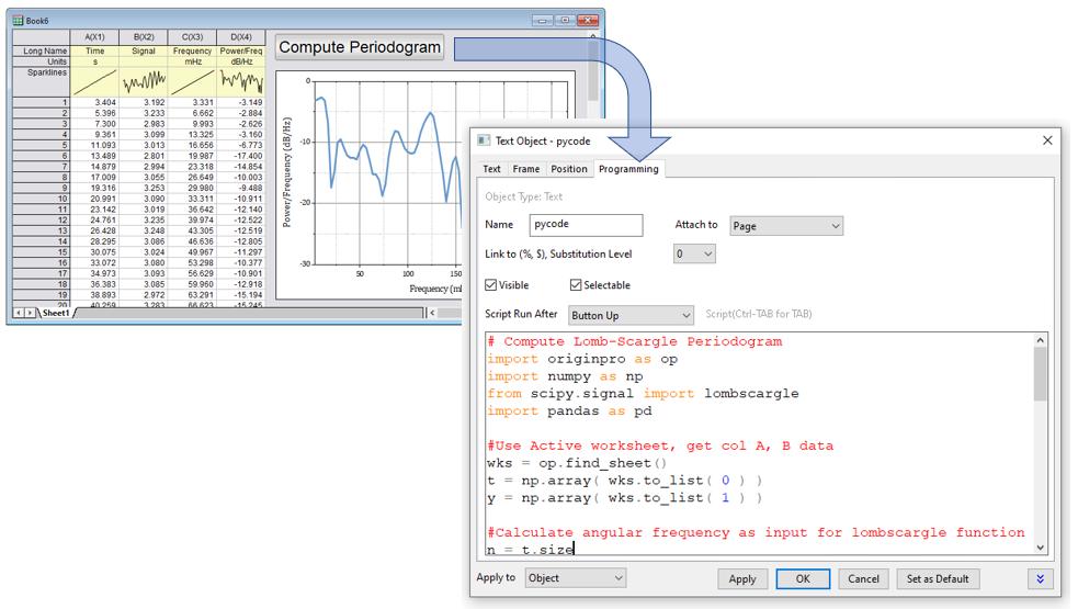 Origin - Ejecute el script de Python directamente desde un botón