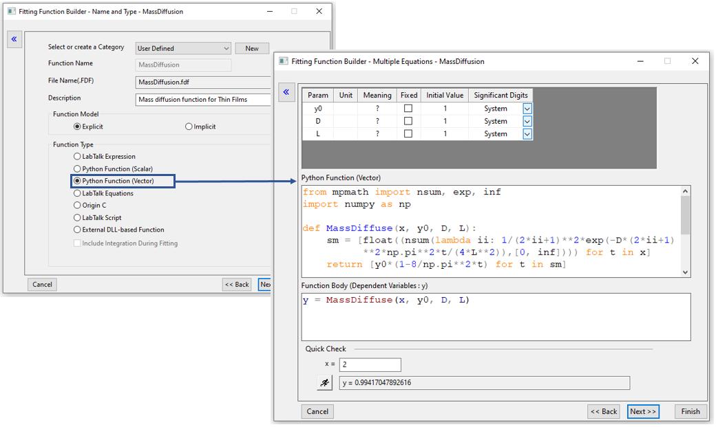 Origin software - Mejoras ene la intergación con Python