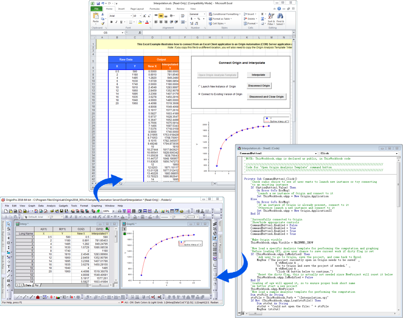 Program Custom Graphing And Analysis Routines In Origin Download Matlab Tutorial Digital Circuit Design With Is Launched A Previously Customized Project Opened Data Sent From Excel To Results Are Automatically